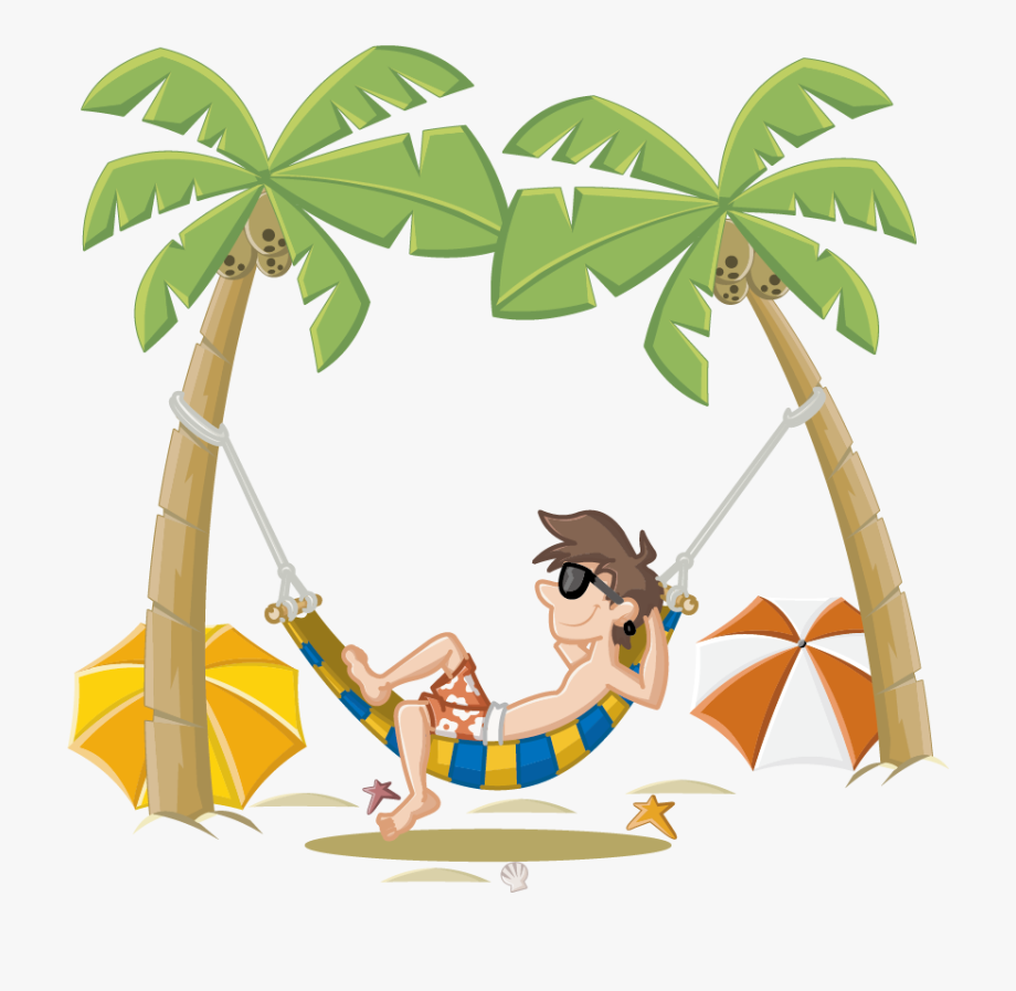 Summer Holiday Beach Cartoon Free Photo Png.