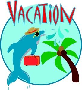 Florida Vacation Clipart.