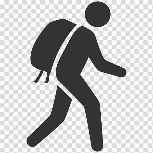 Man with backpack illustration, Computer Icons Travel.