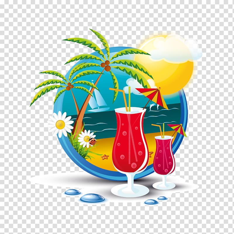 Myrtle Beach Travel , Creative Summer Vacation transparent.