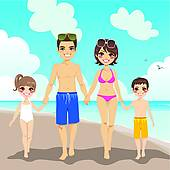 Vacationers Clip Art Illustrations. 135,597 vacationers clipart.