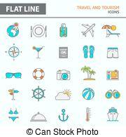 Vacationist Vector Clipart Illustrations. 5 Vacationist clip art.