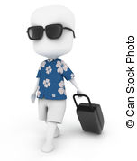 Vacationist Clipart and Stock Illustrations. 7 Vacationist vector.