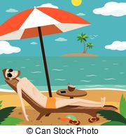 Vacationist Vector Clipart Illustrations. 5 Vacationist clip art.