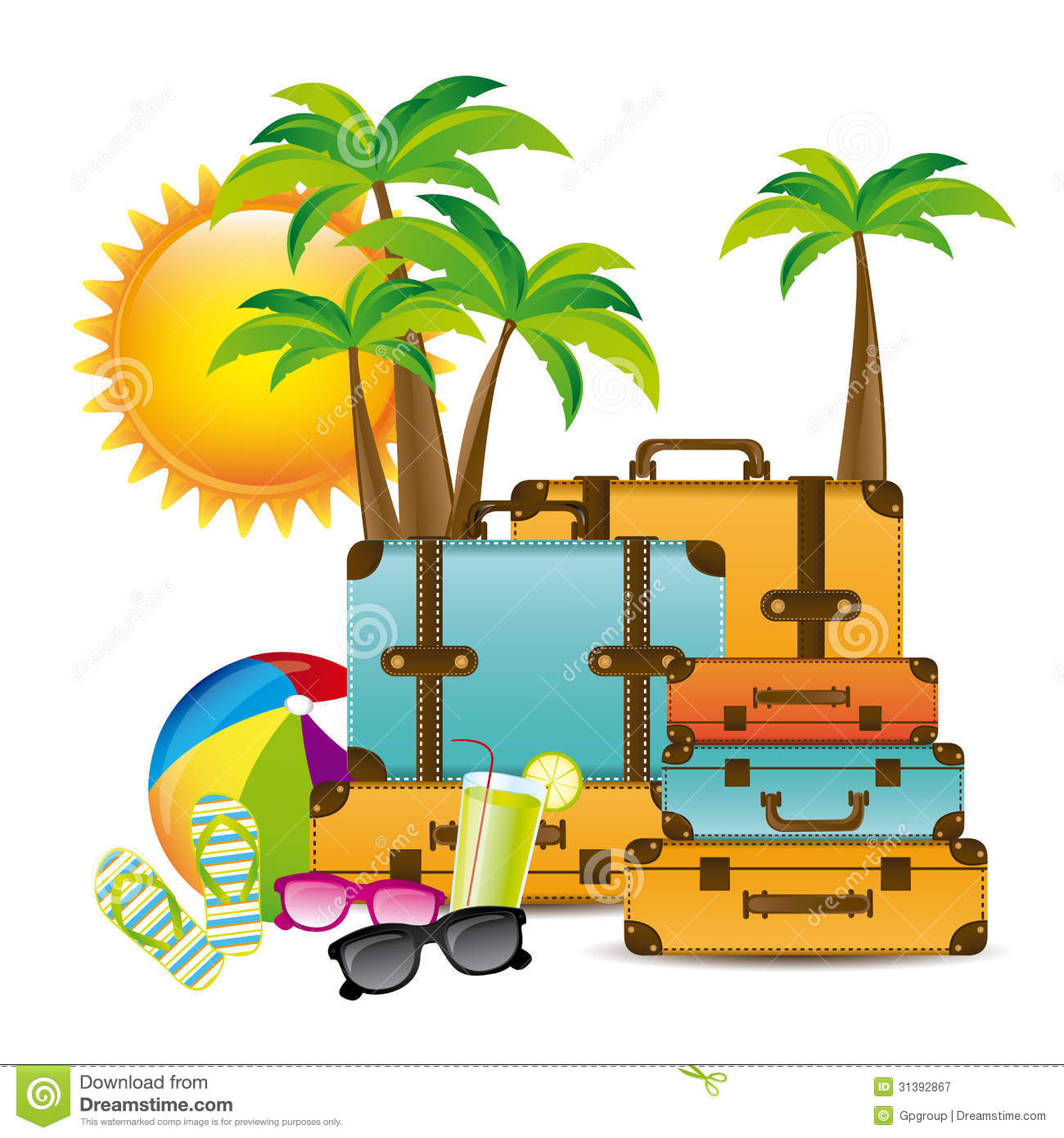 Vacations clipart.