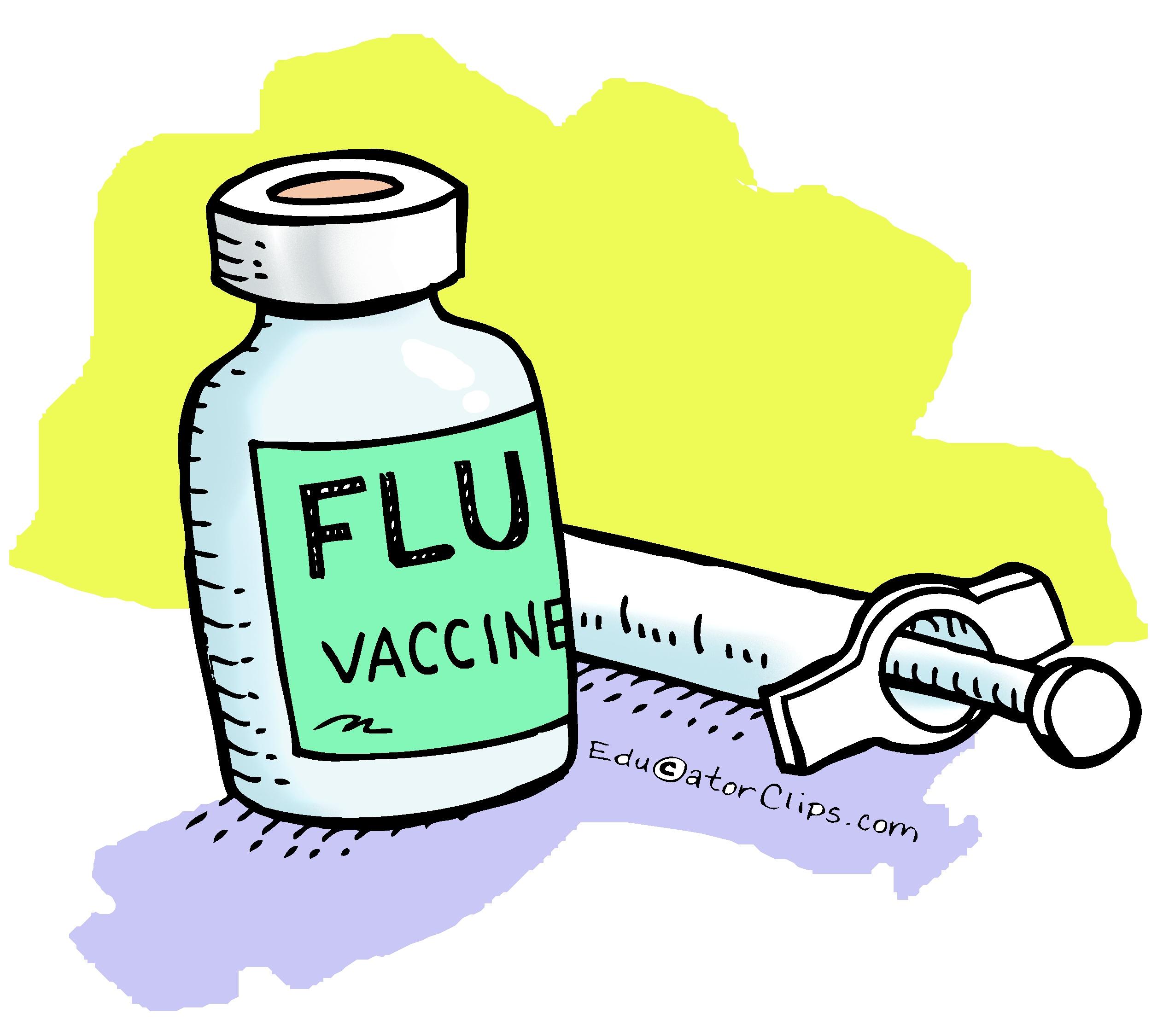 flu vaccine clip art.
