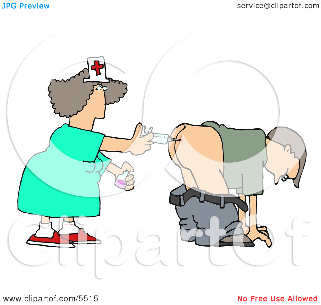Funny Vaccination Clipart.