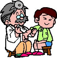 Baby Vaccinations Clip Art.