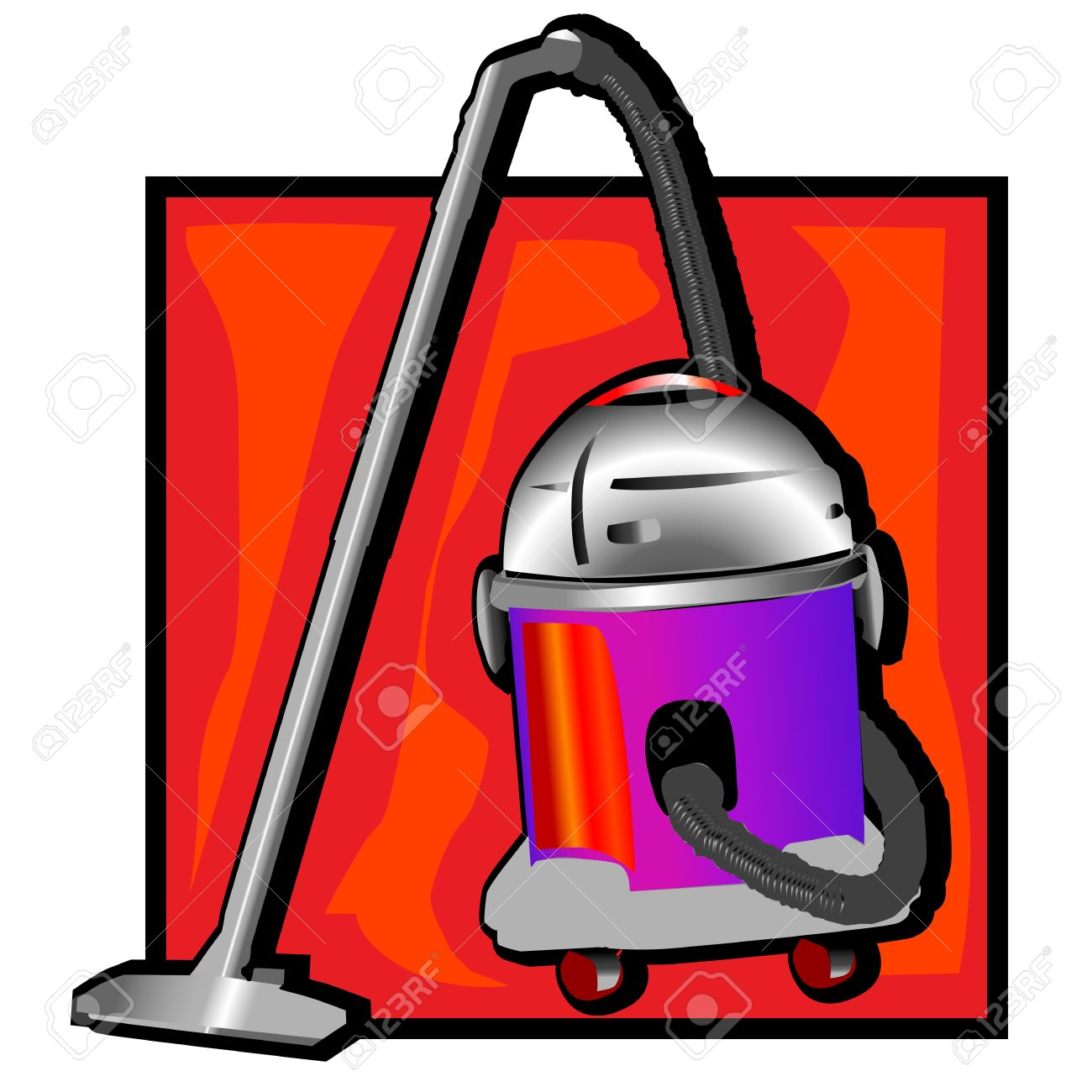 Retro Vacuum Cleaner Clip Art Royalty Free Cliparts, Vectors, And.
