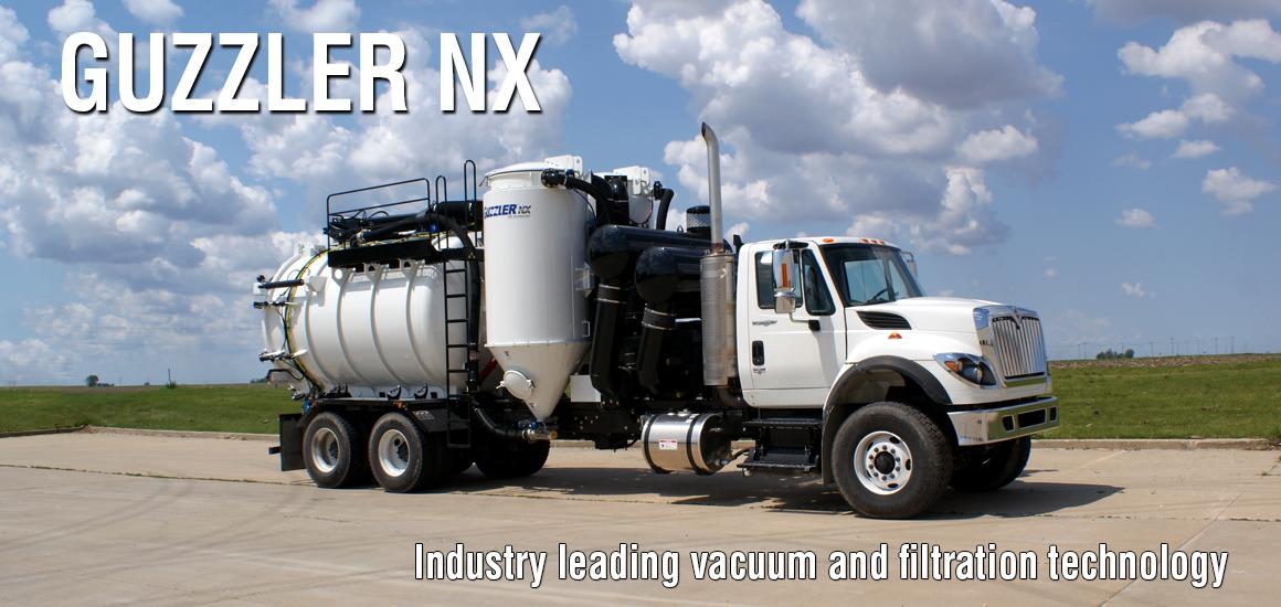 Guzzler Vacuum Trucks.