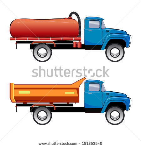 Gallery For > Septic Tank Truck Clipart.
