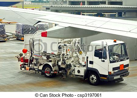Stock Photography of Sludge vacuum truck for sewage water at.