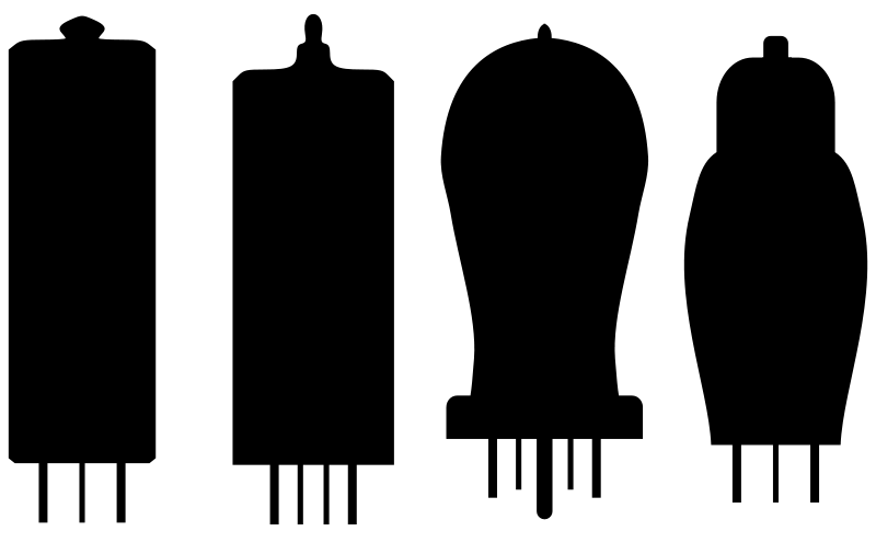Vacuum tubes clipart - Clipground