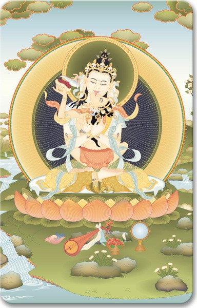 Vajrasattva Father and Mother.