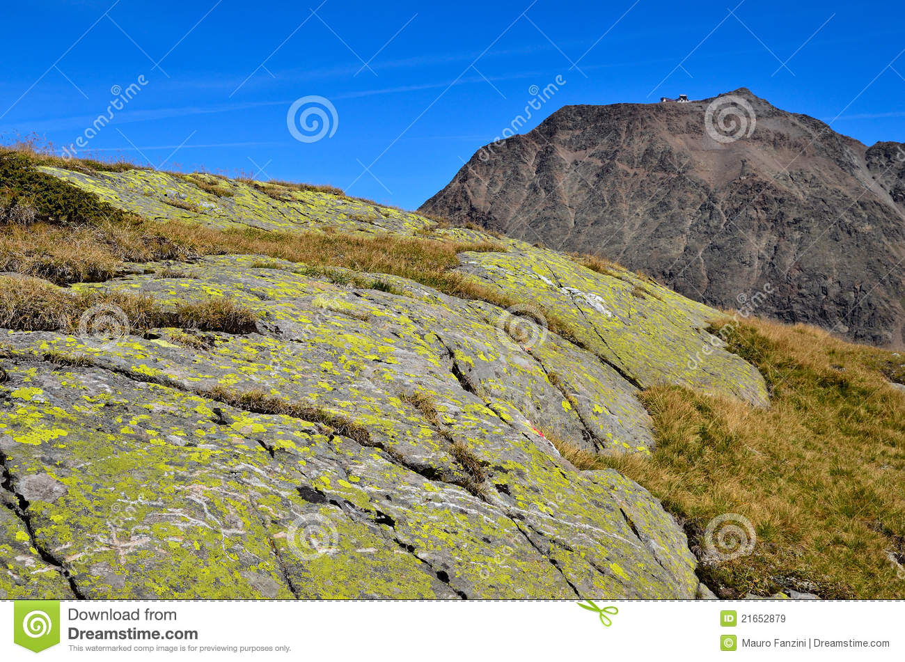 Landscape In Val Senales, South Tyrol Italy Royalty Free Stock.