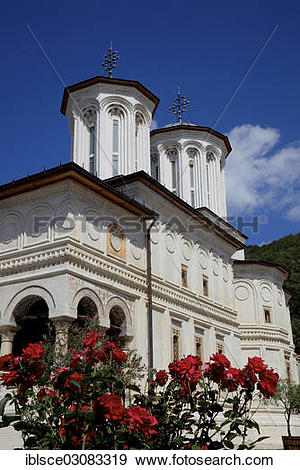 "Stock Photograph of ""Horezu Monastery, Horezu, Valcea County."