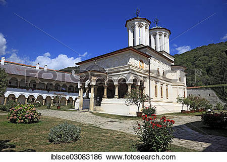 "Stock Images of ""Horezu Monastery, UNESCO World Heritage Site."