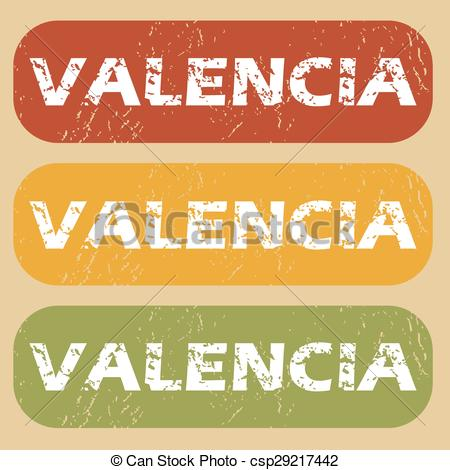 Valencia text Clip Art Vector Graphics. 17 Valencia text EPS.