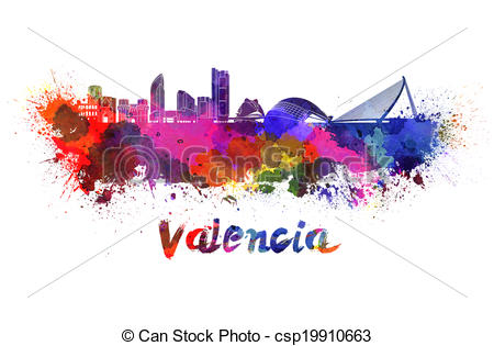 Valencia skyline Illustrations and Stock Art. 39 Valencia skyline.