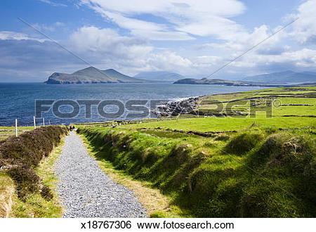 Stock Images of Valentia Island x18767306.