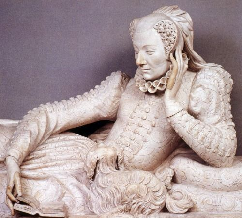 Tomb of Valentine Balbiani, Germain Pilon, 1583. Musée du Louvre.