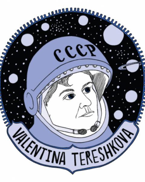 Valentina Tereshkova Mug.