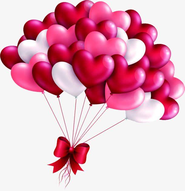 valentines day love balloon.