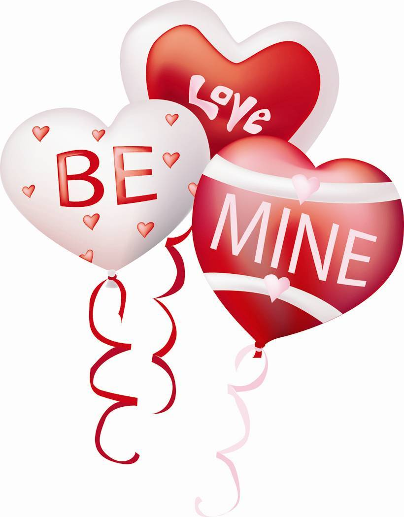 Valentine balloons clipart 3 » Clipart Portal.