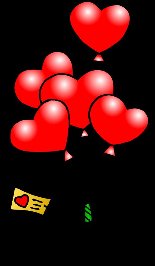 Free Valentine Balloon Cliparts, Download Free Clip Art.