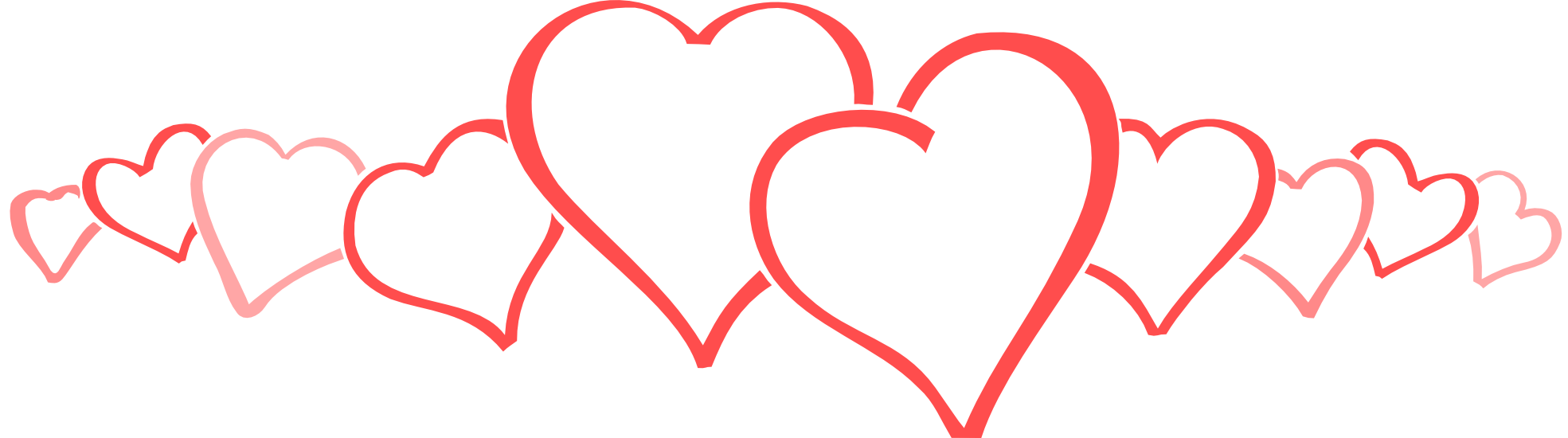 Valentine Hearts Images Clipart.