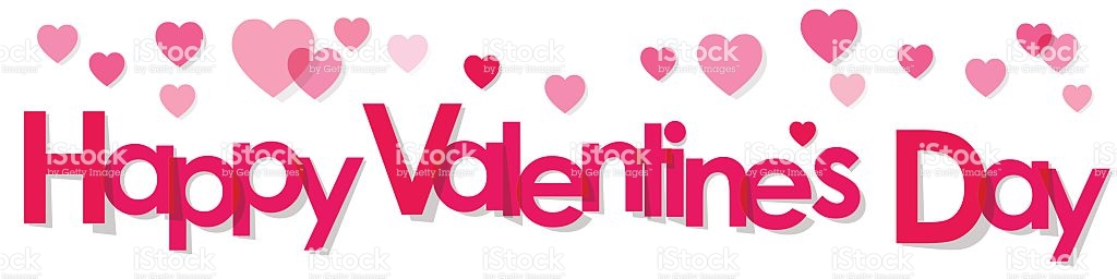 Valentines day banner clipart 4 » Clipart Station.