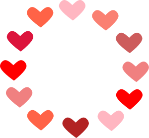 Free Valentine Banners Clipart, 1 page of Public Domain Clip Art.