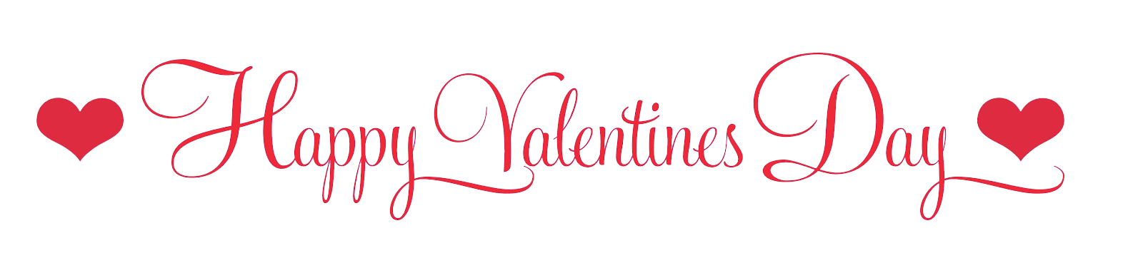 Happy Valentine's Day PNG Transparent Images.