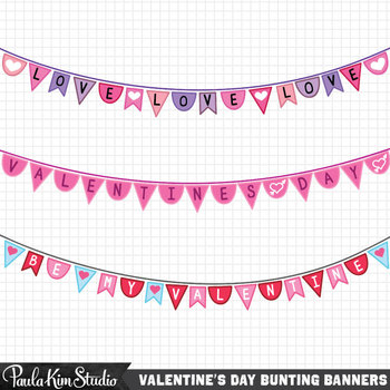 Valentine's+Day+Free+Clipart Bunting+banners+specially+made+for+.