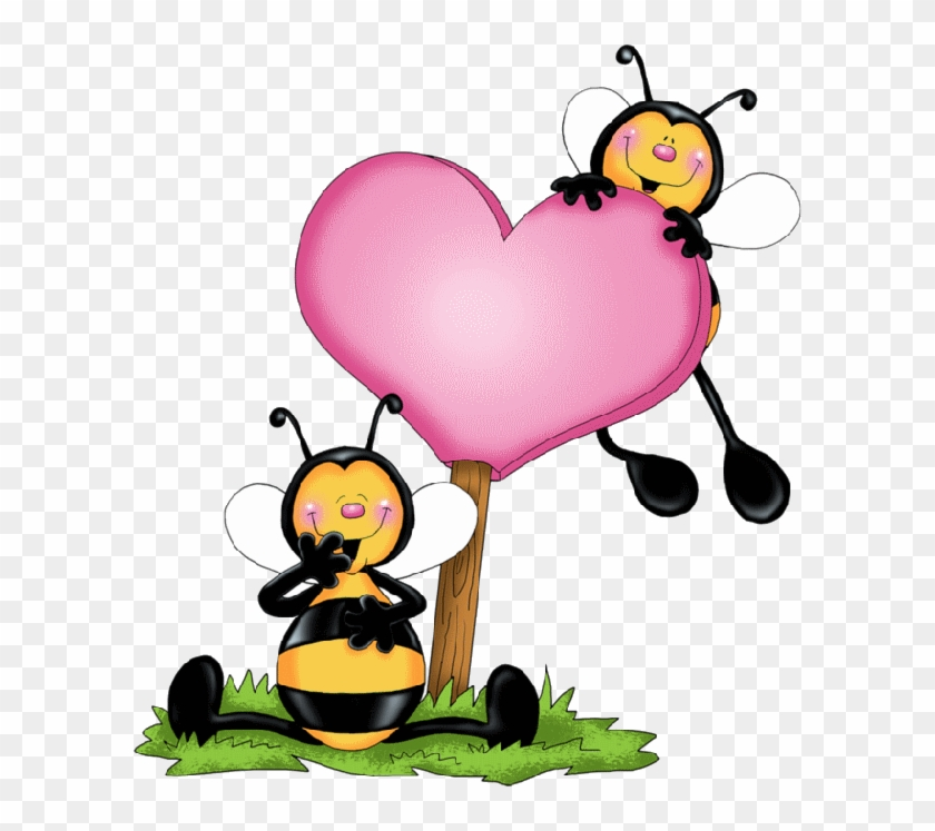Bees And Heart.