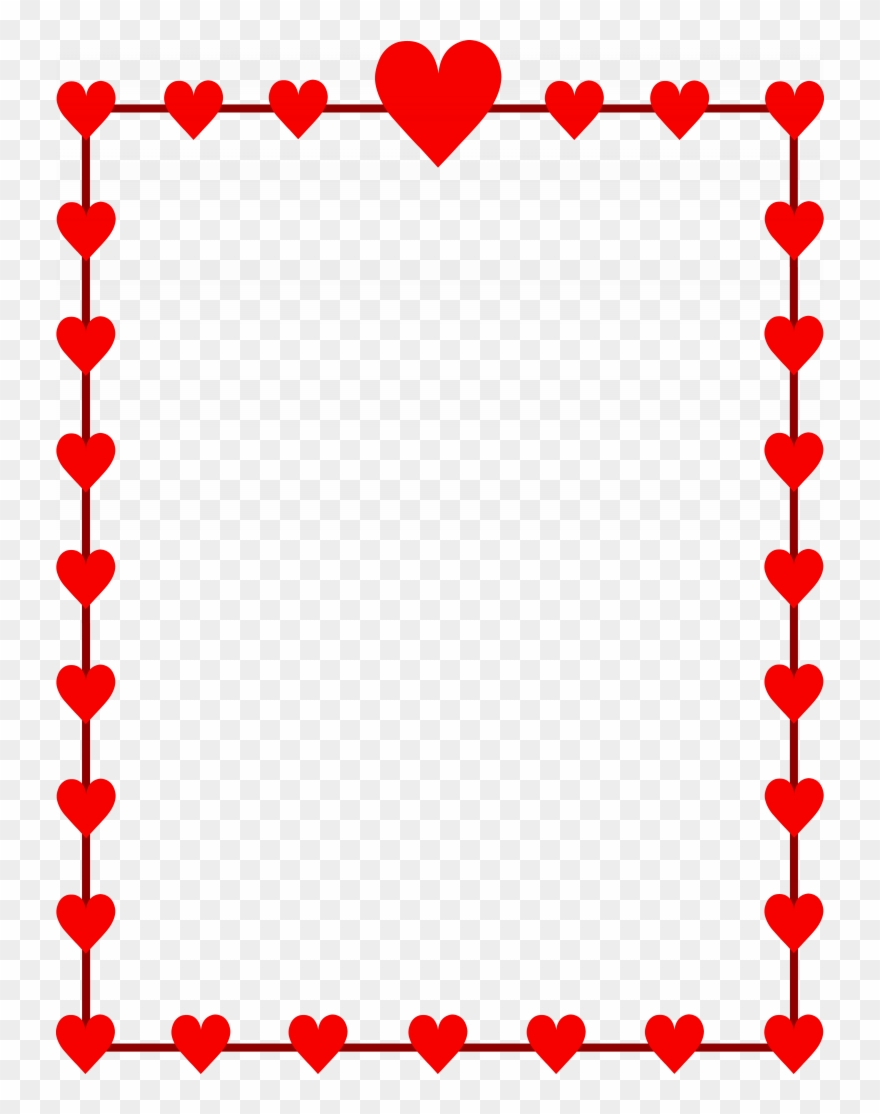 Download Valentines Borders Clip Art.