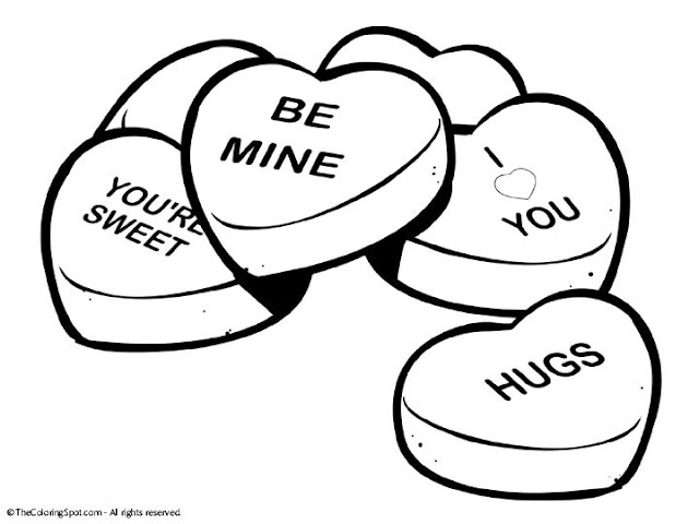 Valentine Candy Cliparts.