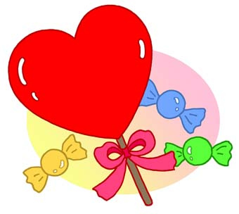 Valentine Candy Clipart.