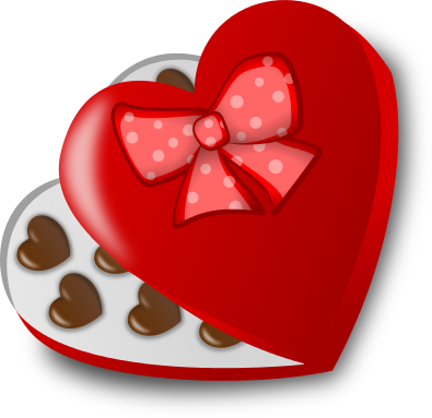 Free Valentine Candy Clipart, 1 page of Public Domain Clip Art.