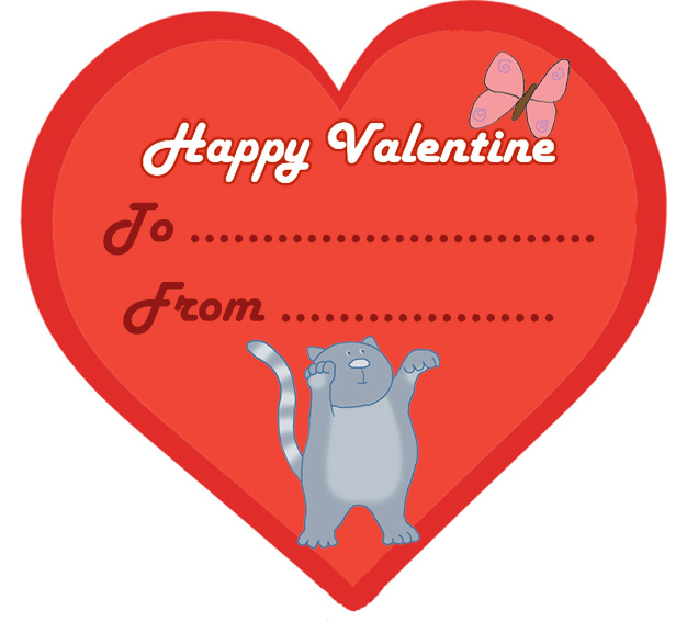 15 Funny and Cute Kids Valentine Cards.