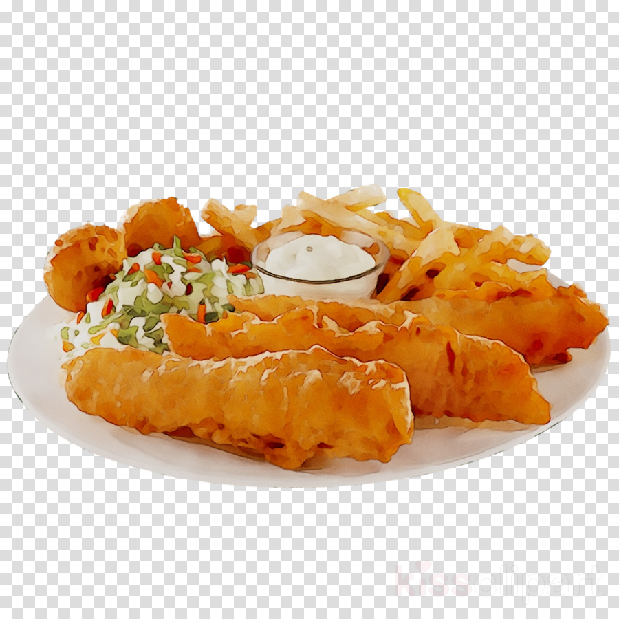 Fish And Chips clipart.