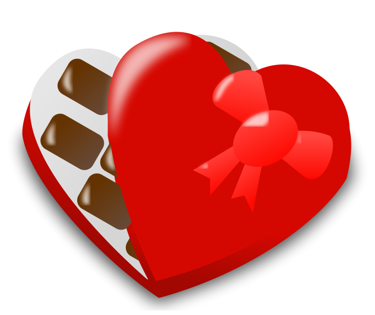 Valentines Day Chocolates PNG Clipart.