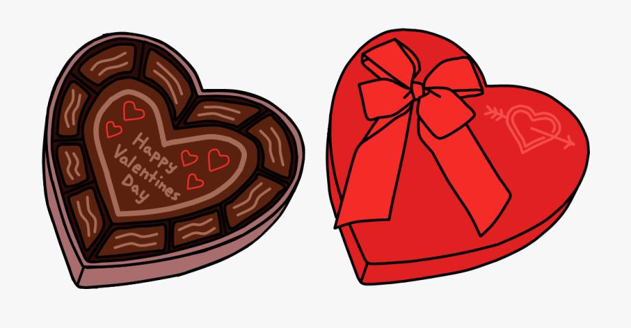 Valentine Chocolate Clipart.