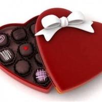 Valentine Box Of Chocolates Clipart.