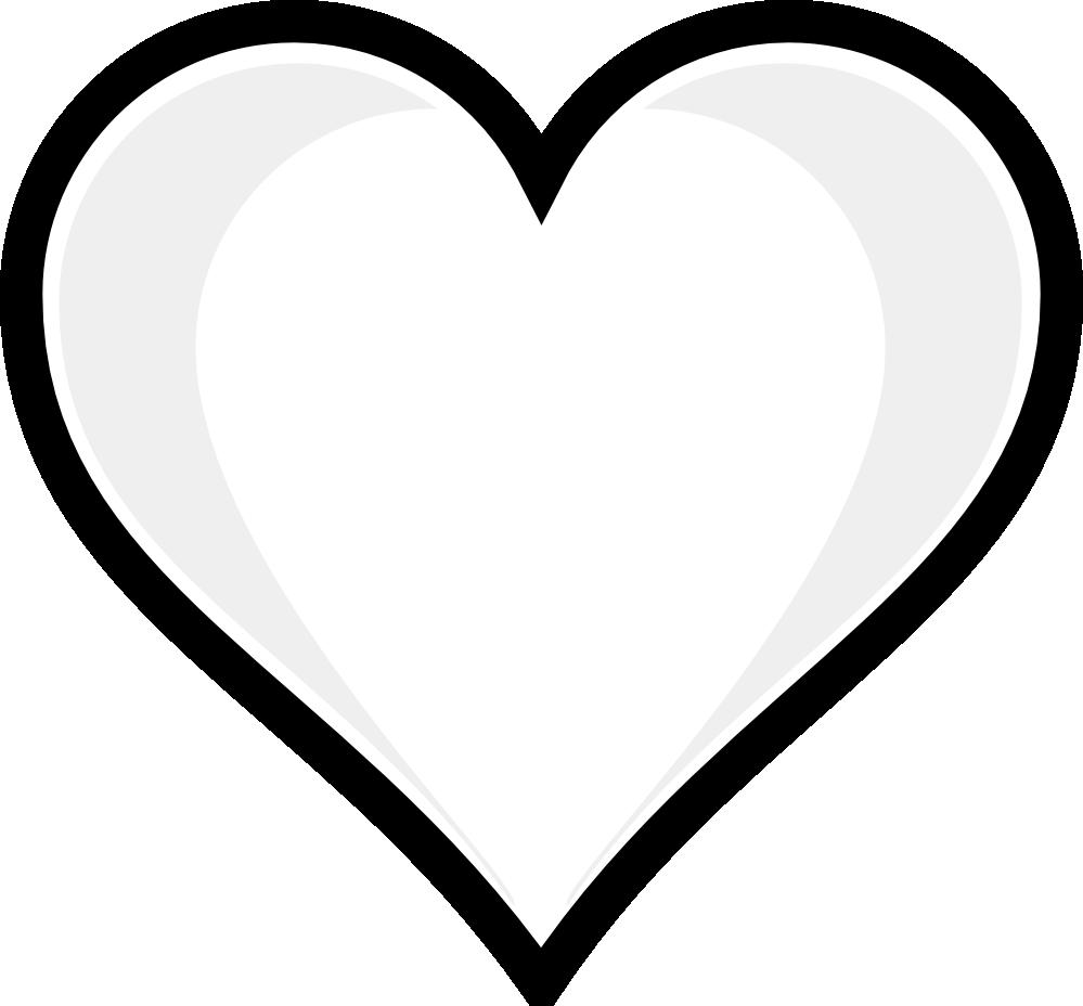 Valentine Hearts Clip Art Black And White Valentine Week 6.