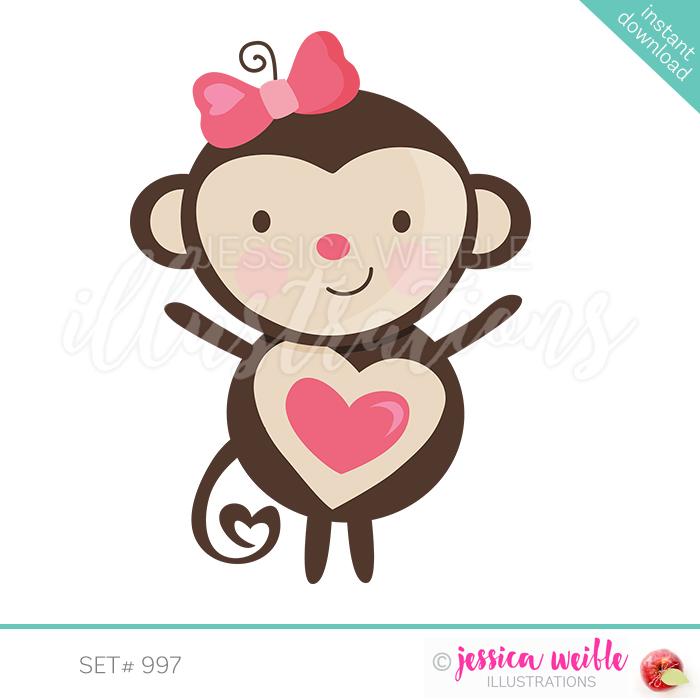 Valentine Monkey.