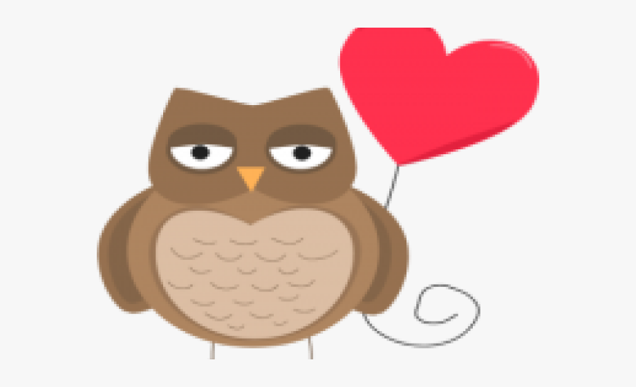 Valentines Day Clipart Owl.
