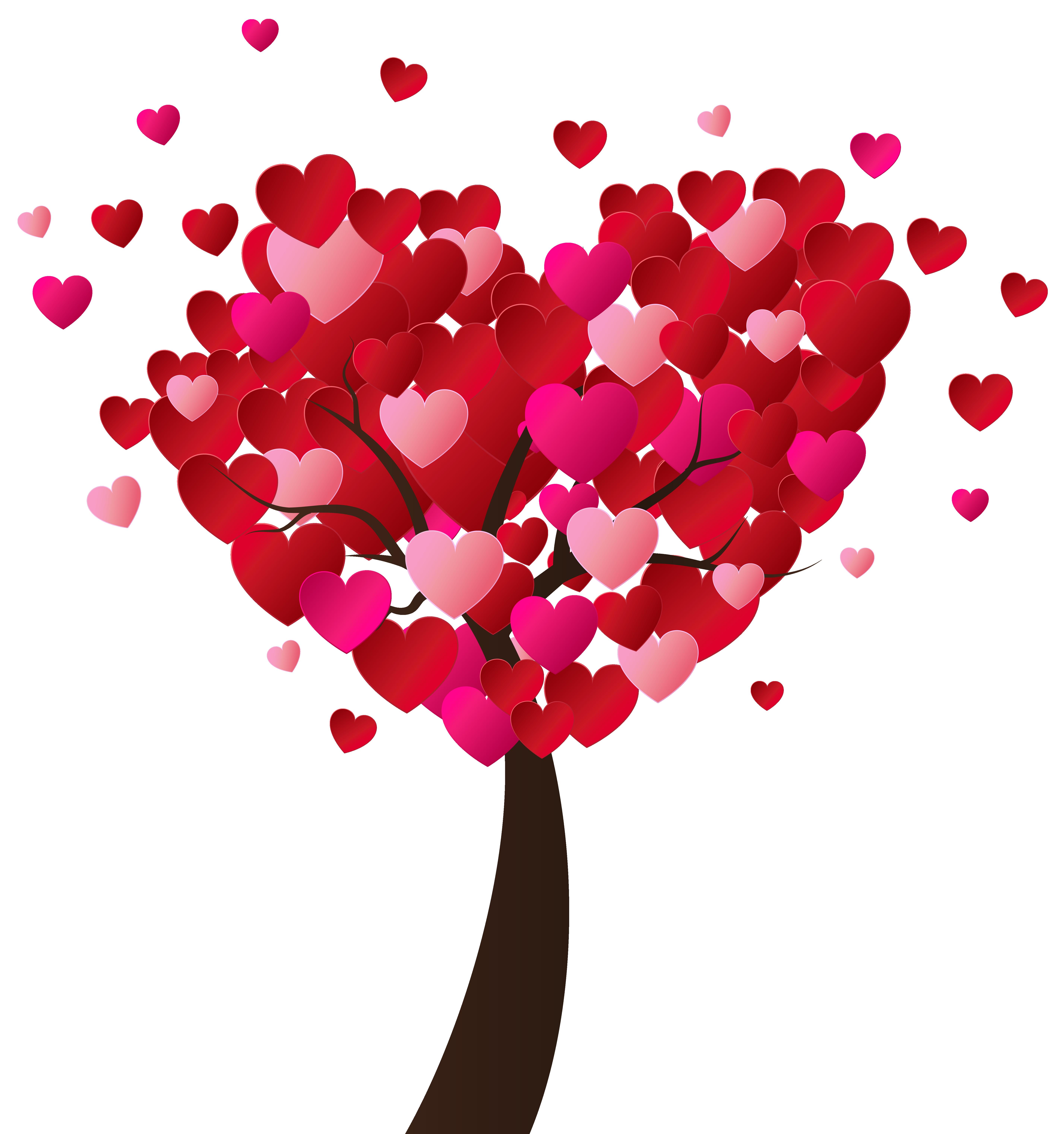 Valentine Clipart Tree.