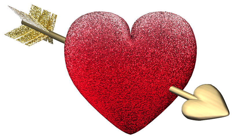 Valentine Heart PNG Clipart.