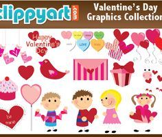24 Best Valentine\'s Day Clip Art for Teachers images in 2019.